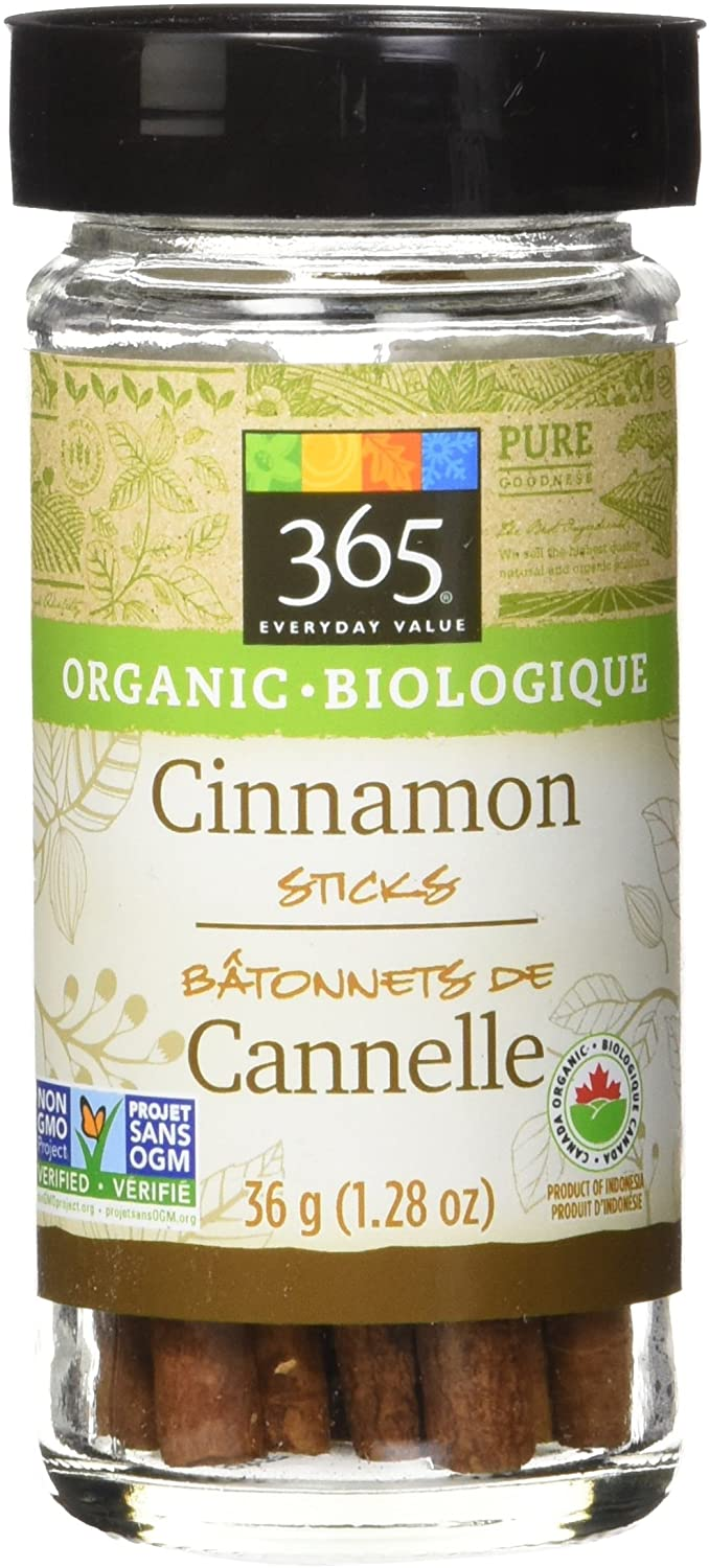 365 Everyday Value Organic Cinnamon Sticks, 1.28 oz